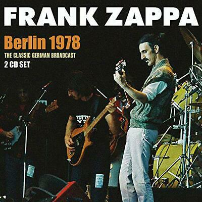 Berlin 1978 (2Cd), Frank Zappa, Audio CD, New, FREE & Fast Delivery