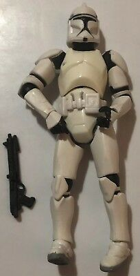 """Star Wars The Clone Wars: CLONE TROOPER (ARMY OF THE REPUBLIC) 3.75"""" Loose"""