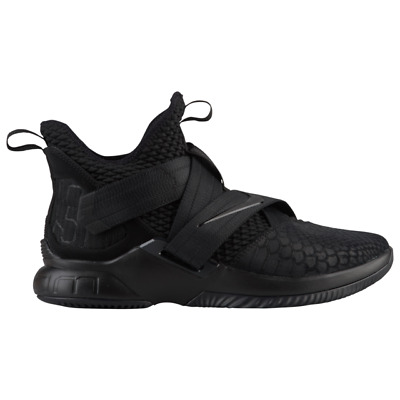 d52f376e145 Nike Lebron Soldier 12 XII SFG Triple Black Basketball 2018 All New Size 9