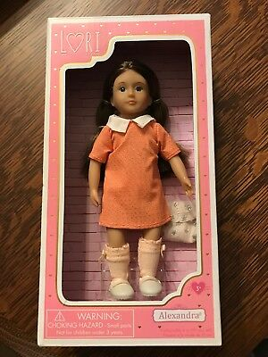 Maison Joseph Battat Lori Collection 6-Inch Fashionable Doll Alexandra NISB