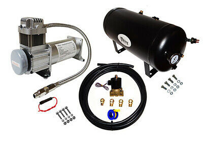 """""""Viking Horns"""" HIGH VOLUME 1/2"""" ON-BOARD AIR SYSTEM FOR TRAIN HORN/SUSPENSION"""