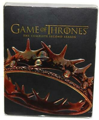 HBO Game of Thrones Complete Second Season Blue Ray 5 Disc Set w/ Bonus Reg DVD