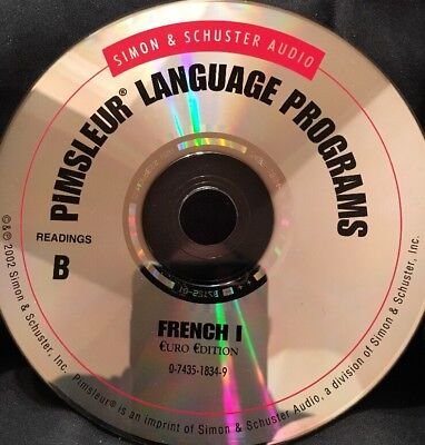 Pimsleur FRENCH I, Level 1, Replacement Disc 16, Reading Lessons B