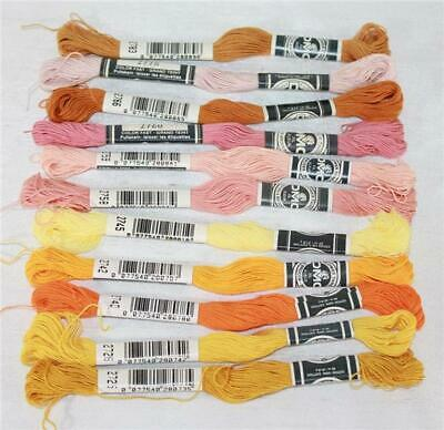 DMC Flower Thread Embroidery Floss Assorted Colors of Color Series 2700