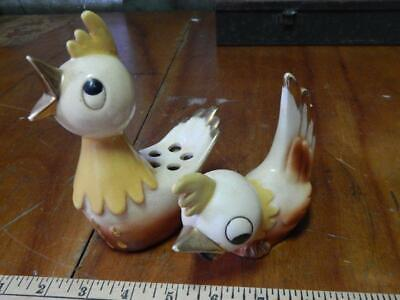 Vintage Holt Howard Cock-a-Doodle Rooster / Chic Pencil Holder & Sharpener Set