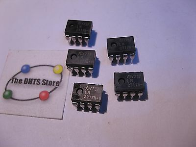 LM2917N-8 National Semiconductor Frequency to Voltage IC LM2917 NOS Qty 5