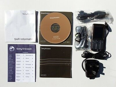 Sony Ericsson K530i inc accessories in Warm Sliver Mint Con with box