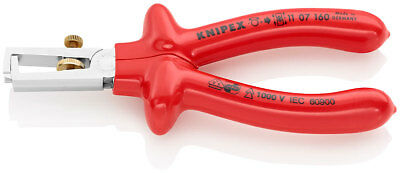 Knipex 11 07 160 S Range VDE Insulated Wire Strippers Stripping Plier 160mm