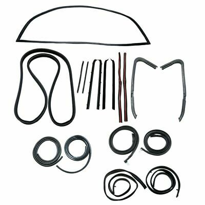 Front Vent Glass Window Weatherstrip Seals Set Pair For Chevy Gmc