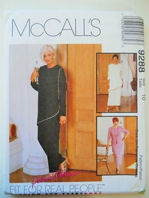 McCall's 9288 sewing pattern size 22