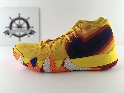5e9db02f108e NIKE ZOOM KYRIE 4 DECADES PACK 70S YELLOW UNCLE DREW 943806-700 sz 9 ...