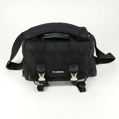 Canon 200DG Digital Camera Gadget Bag DSLR Multiple Compartment Padded Nylon