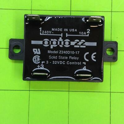 Datacard 295 Solid State Relay Z240D10-17 Opto 22 3-32VDC