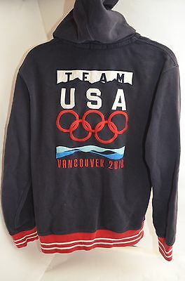 Polo By Ralph Lauren Team USA Vancouver 2010 Sweatshirt W/Large Pony Youth Large