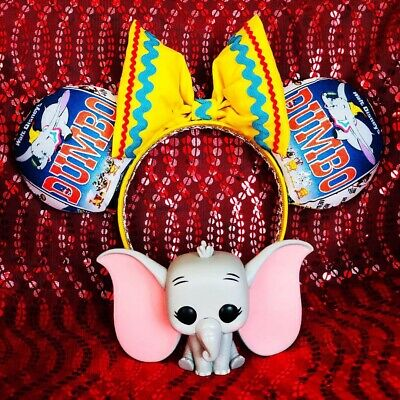 Dumbo Inspired Minnie Mouse Ears