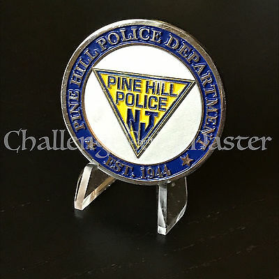 B78 Pine Hill New Jersey Police Department Challenge Coin