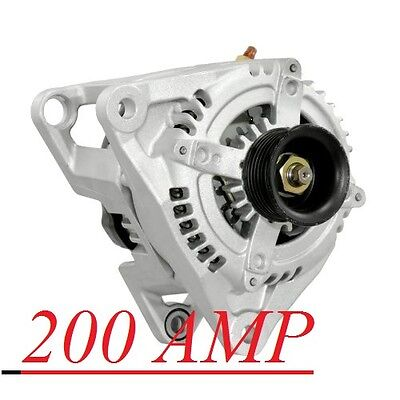DODGE Ram 1500 2500 3500 HEMI Alternator/Generator 200 HIGH AMP 2004 2005 2006