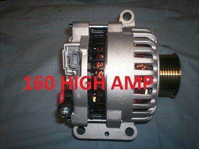 Alternator Ford F Power Stroke Excursion 7.3 Diesel 99 00 -02 HIGH AMP Generator
