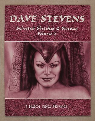 Dave Stevens Selected Sketches and Studies SC #2B 2003 VF 8.0