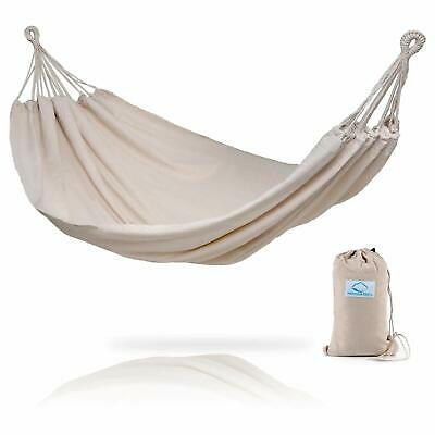 Hammock Sky Brazilian Double Hammock - Two Person Bed for Backyard Porch Outd...