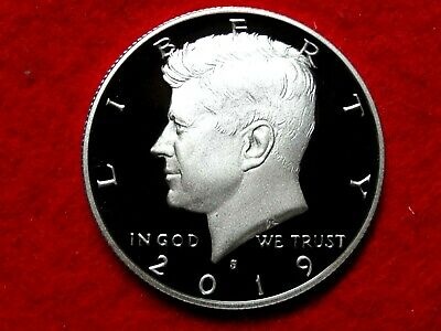 2019 S  Kennedy Frosty Proof Deep Cameo Silver Half Dollar  Item #21Rxi