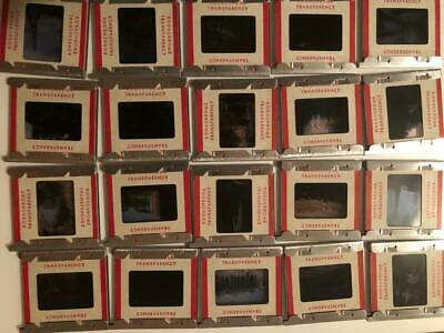 Lot of 67 Vintage Red Border Kodachrome etc. Slides 1950s-60s Europe AIREQUIPT