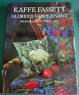 GLORIOUS NEEDLEPOINT Kaffe Fassett Hardback Book