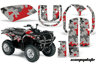 Camo 600 Decals Stickers 4x4 Grizzly Green Graphics Sticker Snowmobile Quad ATV