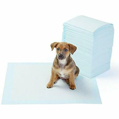 AmazonBasics Pet Training and Puppy Pads, Regular and Heavy Duty 100-Count