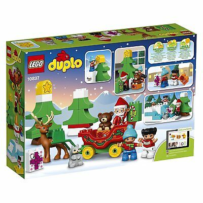 Calendrier Avent Duplo.Lego Duplo Christmas Santa Claus Winter S Holiday Reindeer