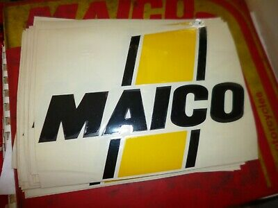 Maico NOS Right side gas tank decal P# 3521 75-78 GP AW Magnum 125 250 400 440