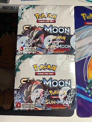 Pokemon Sun & Moon Guardians Rising Booster Box 36 Booster Packs New Sealed
