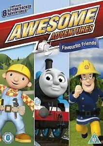 Awesome Adventures - Favourite Friends [DVD], Acceptable, DVD, FREE & Fast Deliv