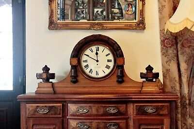 Antique Extra Large Extra Rare English Fusee 'Bethell', Coventry Astral Clock