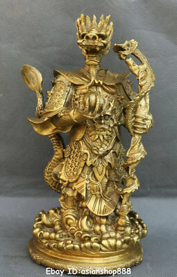 Asian Antiques 100cm Huge China Bronze Wealth Feng Shui Dragon Loong Dragons Animal Statue Clear And Distinctive