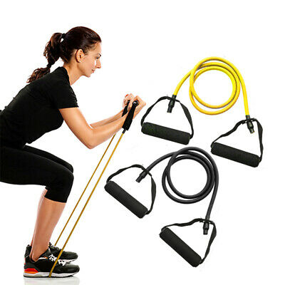 MSD Band BLACK Exercise Resistance Fitness Pilates Yoga Rubber Cross Physio NHS