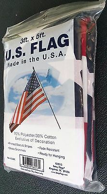 Betsy Flags 3ft. x 5ft. U.S. Flag Fade Resistant Made in the U.S.A.