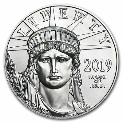 Special Price! 2019 1 oz Platinum American Eagle BU