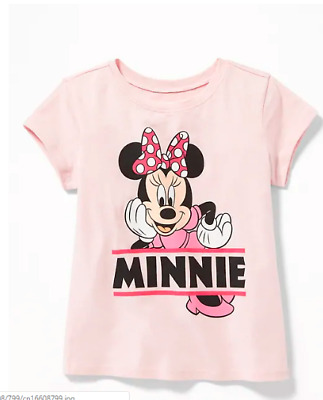 3ef30bc3 GAP OLD NAVY Disney© Minnie Mouse Tee for Toddler Girls NWT 2T 3T 4T ...