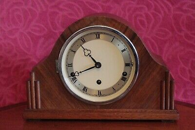 Vintage Art Deco English 'Imperial' Mantel Clock with Westminster Chimes