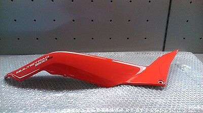 Ducati Multistrada 1200S Seat Fairing Red Rear Right 48231621A