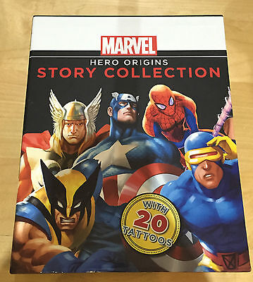 Marvel Hero Origins Story Collection Books Spider-Man Captain America X-Men Thor