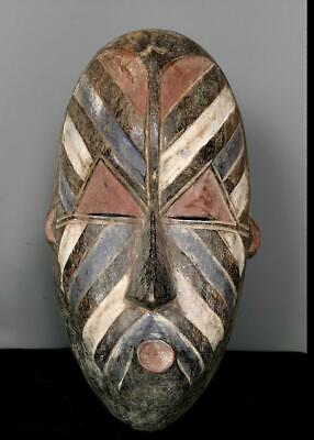 Old Tribal Songye Kifwebe  Mask   --  Congo BN 9