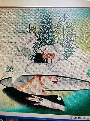 Needlepoint Canvas   Leigh  Fascinating Women (Price Each)