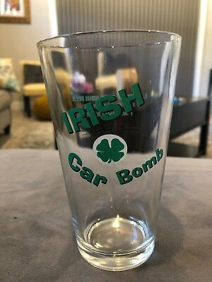 Glass Irish car Bomb from LiT Barware