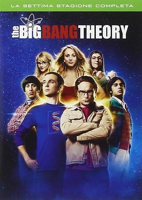 The Big Bang Theory - Serie TV - 7^ Stagione - Cofanetto 3 Dvd - Nuovo Sigillato