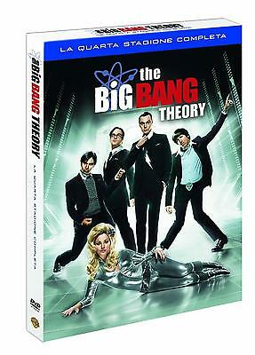 The Big Bang Theory - Serie TV - 4^ Stagione - Cofanetto 3 Dvd - Nuovo Sigillato