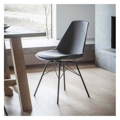 Frank Hudson Gallery Direct Finchley Black Dining Chair