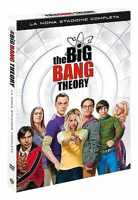 The Big Bang Theory - Serie TV - 9^ Stagione - Cofanetto 3 Dvd - Nuovo Sigillato