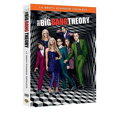 The Big Bang Theory - Serie TV - 6^ Stagione - Cofanetto 3 Dvd - Nuovo Sigillato